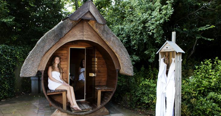 Sauna en Beautyresort de Leliehof Makkum